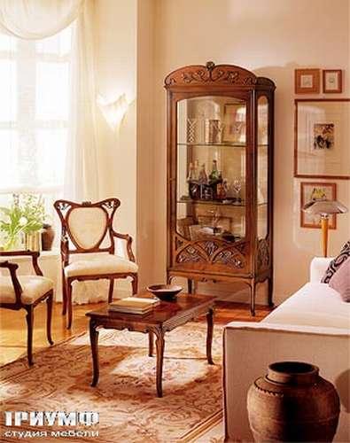 Итальянская мебель Medea - Витрина из коллекции Liberty с одной дверью