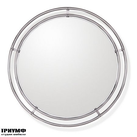 Американская мебель Ralph Lauren Home - TUBULAR STEEL BAUHAUS MIRROR