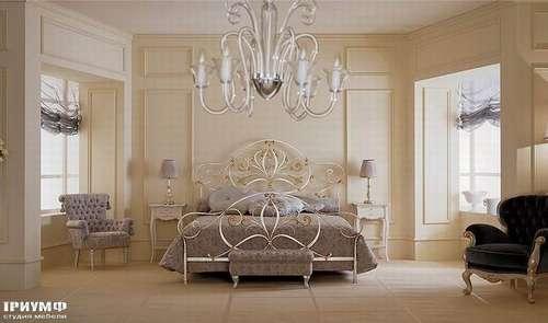 Итальянская мебель Giusti Portos - Спальня в ковке Angelica