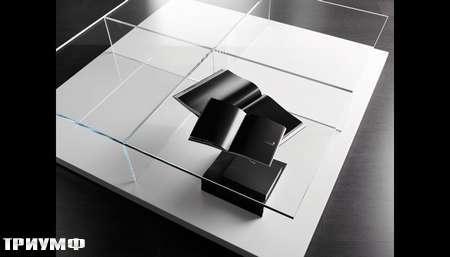 Итальянская мебель Meridiani - стол журнальный Clooney