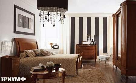 Итальянская мебель Grilli - Кровать и остальные предметы для спальни