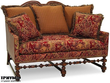 Американская мебель Chaddock - Chaddock Collection European Tour Loveseat