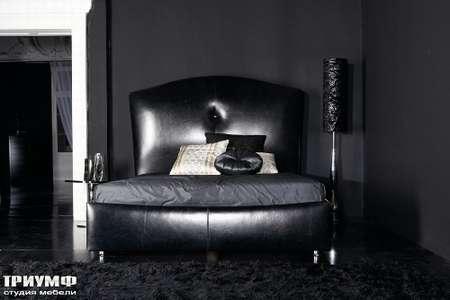 Итальянская мебель Noir Cattelan Italia - Кровать Accademia