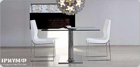 Итальянская мебель Bonaldo - стол раскладной Plinto