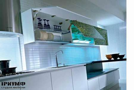 Кухня Q2 System двухуровневая