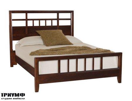 Американская мебель American Drew - SLAT QUEEN BED COMPLETE