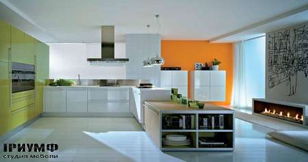 Итальянские кухни Pedini - Кухня Q2System композиция