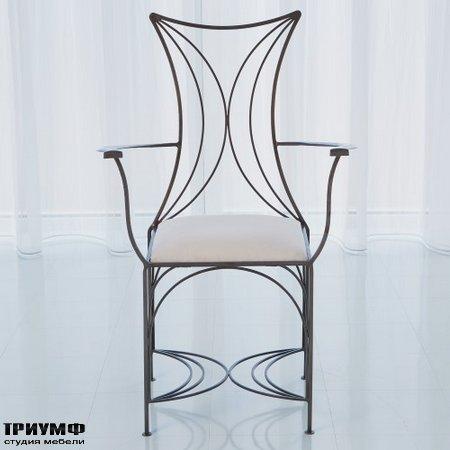 Американская мебель Globalviews - French Curve Chair