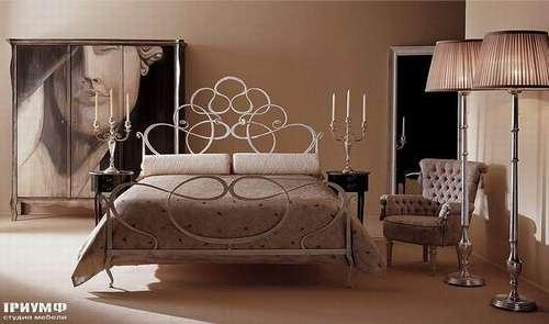 Итальянская мебель Giusti Portos - Кованая спальня Aramis
