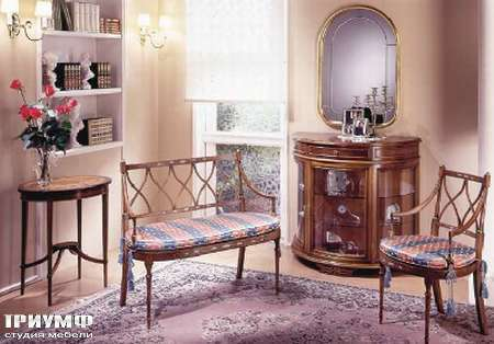 Итальянская мебель Ezio Bellotti - Диванчик на ножках