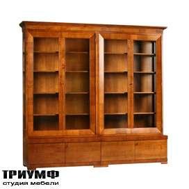 Итальянская мебель Morelato - Книжный шкаф кол. Biedermeier