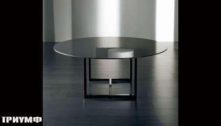 Итальянская мебель Meridiani - стол круглый IRONS
