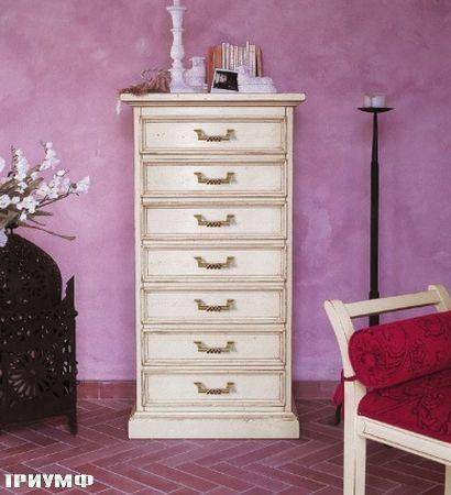 Итальянская мебель Tonin casa - комод высокий с 7 ящиками