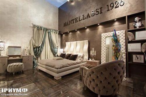 Итальянская мебель Mantellassi - Кровать Ola