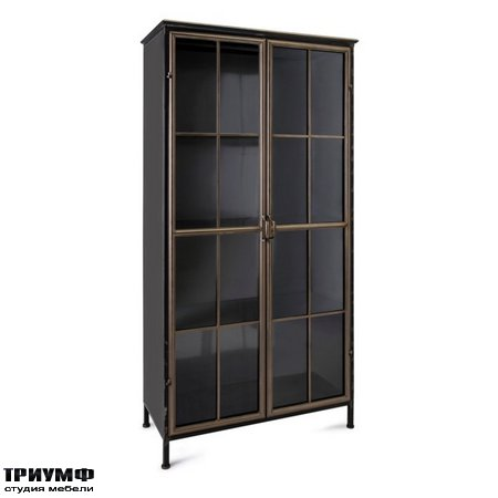 Американская мебель Imax - Enzo Metal Armoire