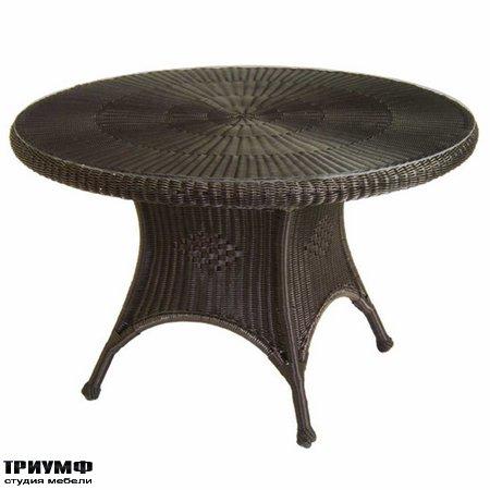 Американская мебель Summerclassics - Classic Wicker Dining Table