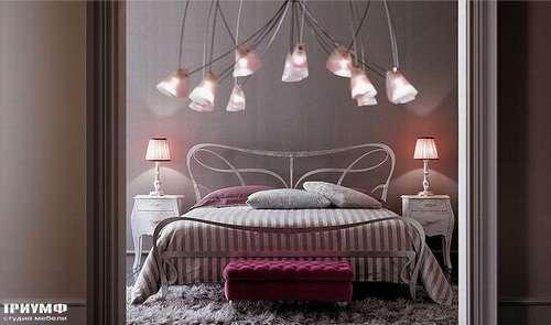 Итальянская мебель Giusti Portos - Кровать арт-деко Athos