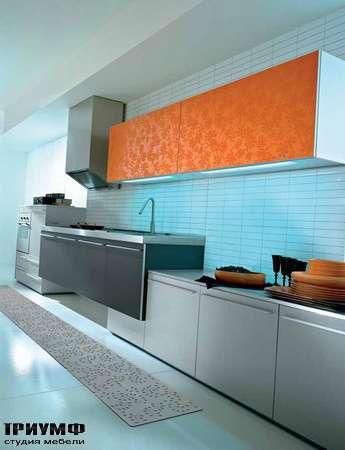 Итальянские кухни Pedini - Кухня Q2 System с подвесной мойкой