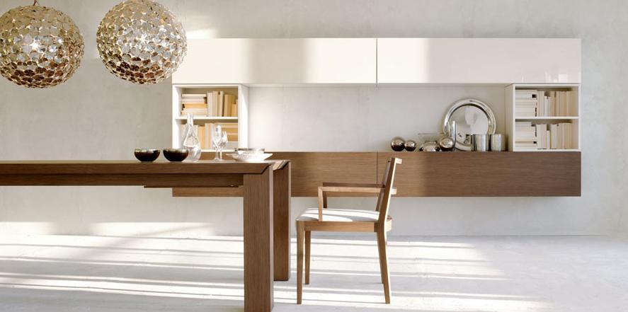 Итальянская мебель Olivieri - Стенка подвесная Cube3