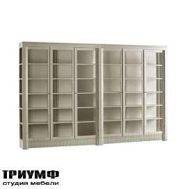 Итальянская мебель Morelato - Книжный шкаф 6 дверей