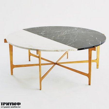 Американская мебель Globalviews - Maxwell Cocktail Table