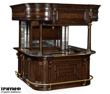 Американская мебель Jonathan Charles - COMplete Linenfold Tudor Oak Home Bar