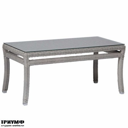 Американская мебель Summerclassics - Club Woven Coffee Table