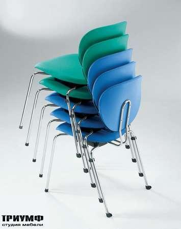 Итальянская мебель Frezza - Стулья для переговорной, складные , коллекция alpha