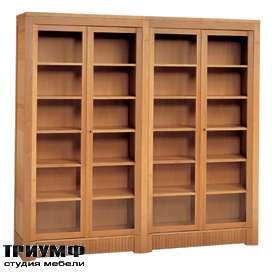 Итальянская мебель Morelato - Книжный шкаф 4-х дверный арт. 900
