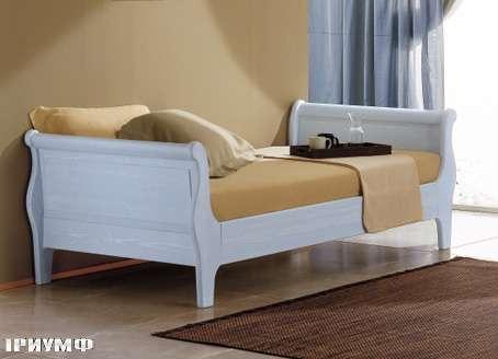 Итальянская мебель De Baggis - Кровать L0411bis