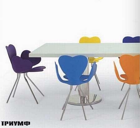 Итальянская мебель Edra - стул Fortuna