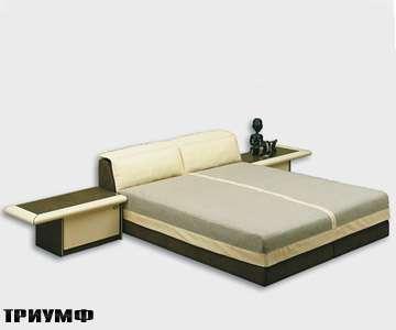 Итальянская мебель Rossi di albizzate - кровать Bogo