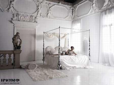 Итальянская мебель Noir Cattelan Italia - Кровать Plaza