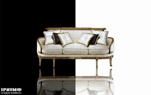 Итальянская мебель Cornelio Cappellini - Диван трехместный в клетчатой ткани