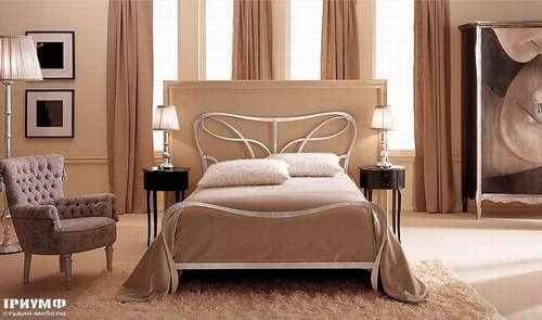 Итальянская мебель Giusti Portos - Кровать двуспальная Athos