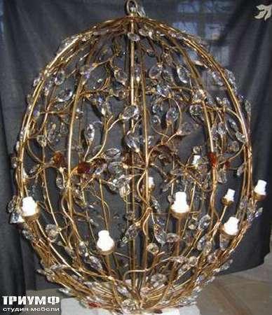 Освещение Eurolampart - Люстра-шар, с цветами, арт.1121-12L