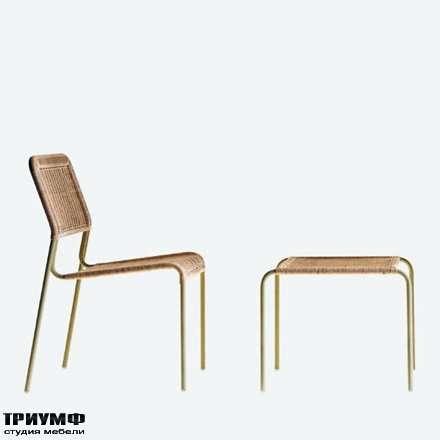 Итальянская мебель Driade - Стул плетенный