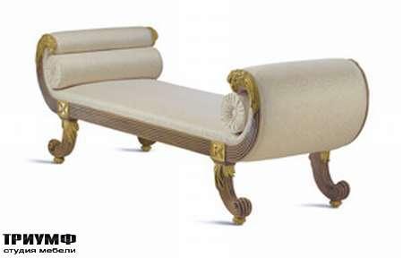 Итальянская мебель Chelini - Кушетка закруглённая с валиками арт. 691