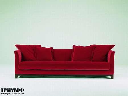 Итальянская мебель Futura - Диван трехместный раскладной Barth