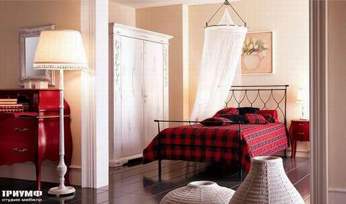 Итальянская мебель Giusti Portos - Кровать односпальная Bolero