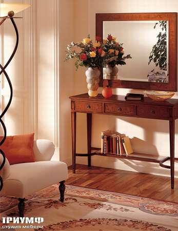 Итальянская мебель Medea - Консоль прямоугольная с 3 ящиками, арт. 52 R