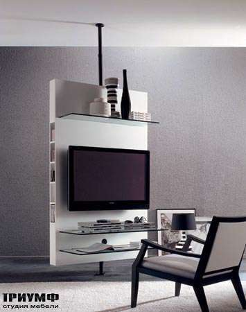 Итальянская мебель Porada - Панель под плазма ТВ mediacentre