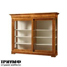 Итальянская мебель Morelato - Низкая витрина кол. Biedermeier
