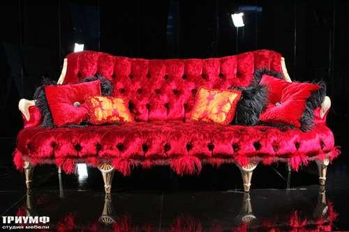 Итальянская мебель Cornelio Cappellini - Диван стеганный с перьями