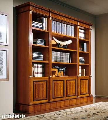 Итальянская мебель Colombo Mobili - Книжный шкаф арт.130 кол. Scarlatti