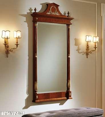 Итальянская мебель Colombo Mobili - Зеркало в имперском стиле арт.193 кол. Salieri