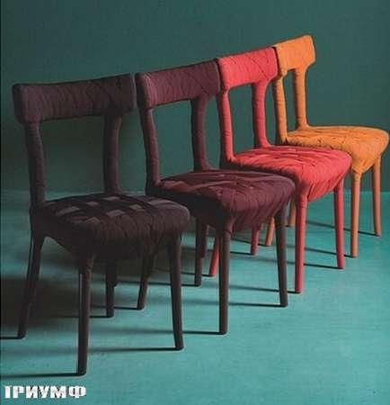 Итальянская мебель Edra - стулья Mummy