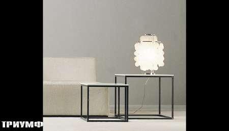 Итальянская мебель Meridiani - столик журнальный Hardy quattro