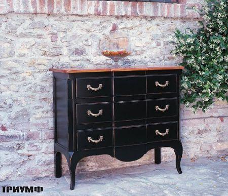 Итальянская мебель Tonin casa - комод с тремя ящиками