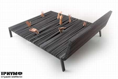 Итальянская мебель Lago - кровать letto steps